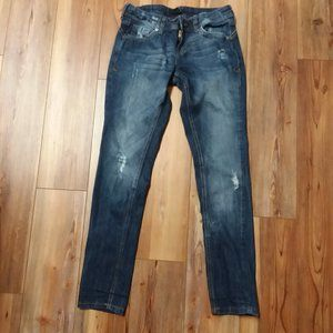 Forever 21 Jeans Wm's Size 2 Distressed